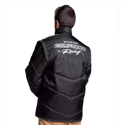 Jaqueta California Racing Life Reflex Motoboy Motoqueiro