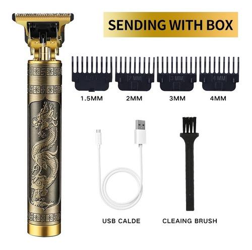 Máquina Profissional Cortar Cabelo Barba Acabamento Detalhes