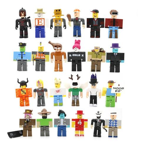 24 Figuras Roblox Juguetes Muñecas Regalo Para Niños