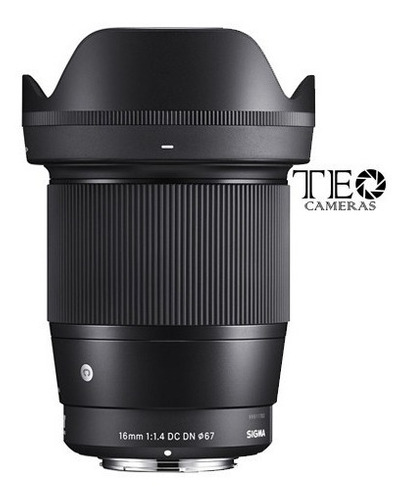 Sigma 16mm F/1.4 Dc Dn E-mount Sony C/ Recibo