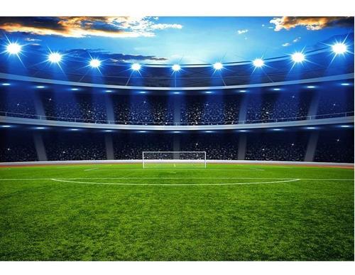 Fundo Fotográfico Tecido Newborn Futebol 2, 2x1, 5m Ffc 265
