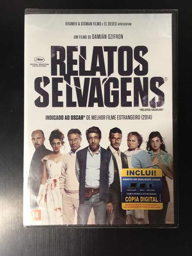 Dvd Relatos Selvagens Original Lacrado