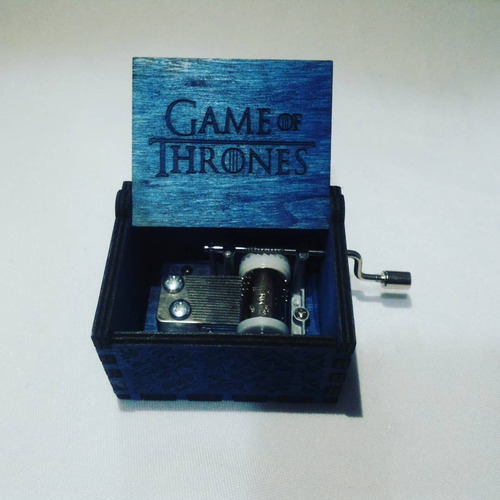 Games Of Thrones Caja Musical En Madera