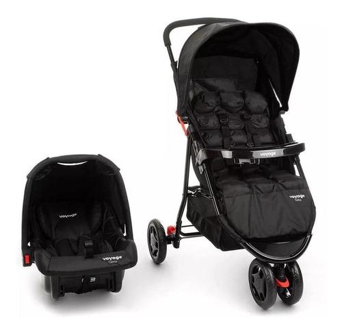 Carrinho De Bebê 3 Rodas Com Bebe Conforto Delta Ts