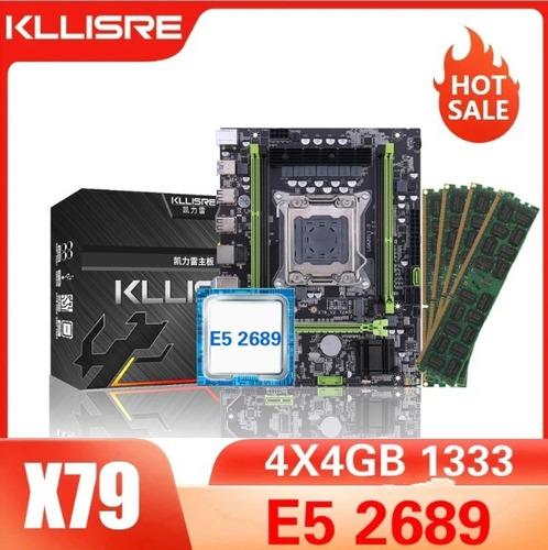 Kit Proc Xeon E5-2689 + Placa Mãe + 4 Memória Ddr3 4gb