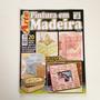 Revista Criando Arte Pintura Em Madeira Banco Bandeja Bb311