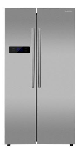 Heladera No Frost Philco Phsb530xt Inox Con Freezer 527l 220v