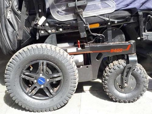 Kit Bruto Cadeira Motorizada Ottobock B400 4 Pneus