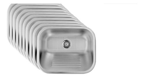 Tanque Em Inox 500x400x215 Escovado Washhouse Hidronox