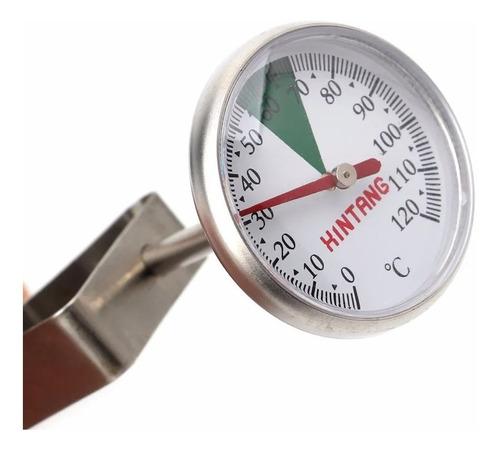 Termometro Acero Leche Cafe Cocina Alimento 0-120 Grados