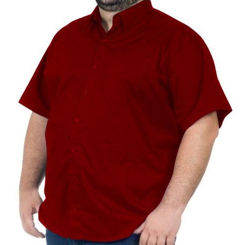 Camisa Extra Grande Manga Curta