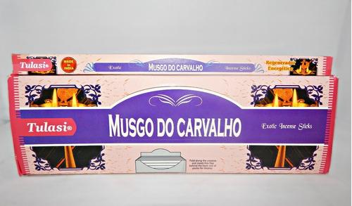 Incenso Tulasi Musgo Do Carvalho Box Com 25 Caixinhas