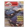 Quatro Rodas Nº360 Apollo Monza Verona Cbt Javali Vw Gol Gti