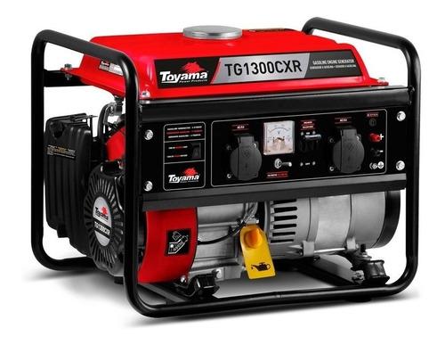 Gerador Portátil Toyama Tg1300cxr 1.25 Kw Monofásico Com Tecnologia Avr 115v/230v