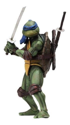 Tmnt Tortugas Ninja Movie 1990 Leonardo N.e.c.a. Neca