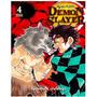 Mangá Demon Slayer Kimetsu No Yaiba Número 4