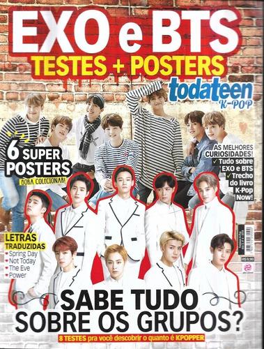 Wxo E Bts Testes + Posters Todateen K-pop Ano 2 Nº 4