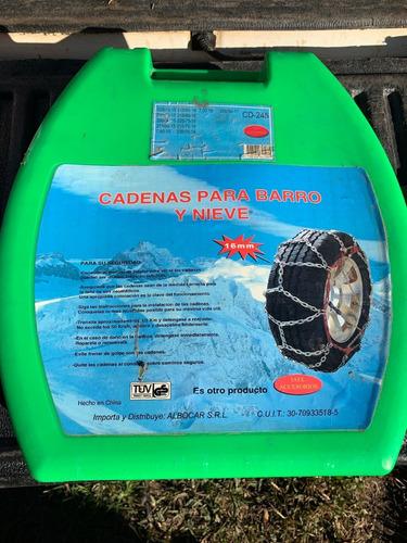 Cadena Para Nieve Y Barro Hilux/amarock