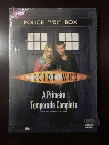 Box Dvd Doctor Who 1ª Temporada Original Lacrado
