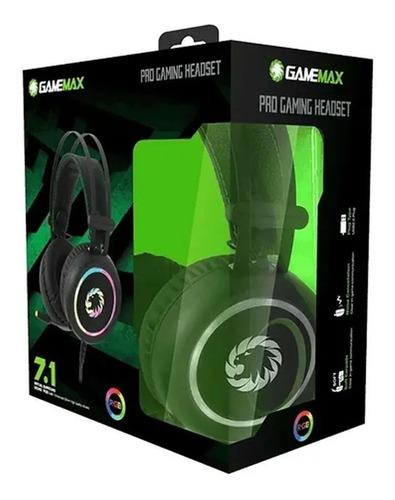 Auricular Gamemax Microfono Rgb Le