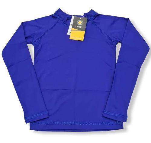Blusa Camisa Térmica  Proteção Solar Uv 50+ Infantil Juvenil