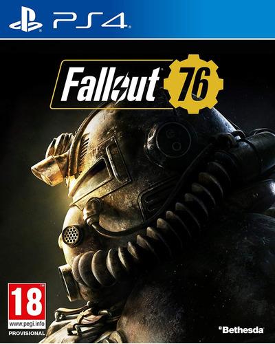 Fallout 76 Ps4 Juego Físico Sellado Nuevo Playstation 4 Pro