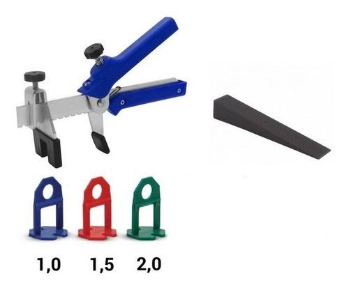 Clip Nivelador Cerámica Porcelanato De 1mm, 1,5mm, 2mm X100