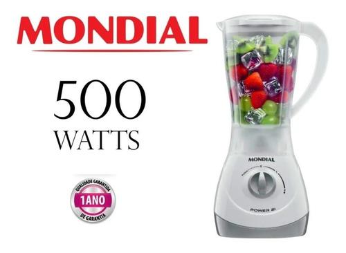 Liquidificador Mondial 500w Com Copo Que Não Quebra