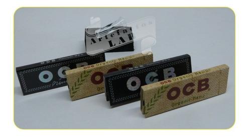 Set Ocb Papel Para Liar + Obsequio.  Thin Paper Smoking