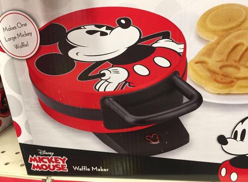 Waffle Mickey Original Disney 110w Pronta Entrega