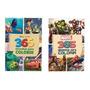 Kit De 2 Livros Para Colorir Disney Pixar E Vingadores