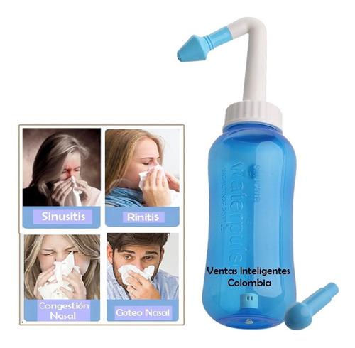 Sistema Lavado Nasal A Presión Sinusitis Adultos Niños 300ml