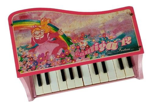 Piano Infantil Antigo Giese  Raridade Na Caixa Anos 70