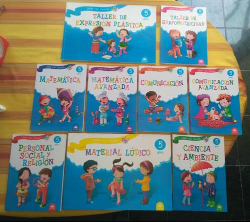 Coleccion Set Libros Educacion Inicial Infantil Para 5 Años