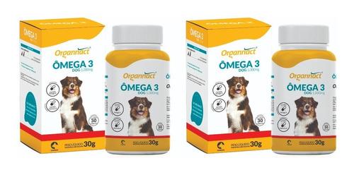 2 X Omega 3 1000mg 30 G 1000 Mg Organnact Pet Shop Store