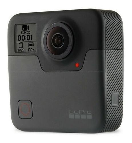 Câmera Gopro Fusion Captura De 360º - Resistente À Água
