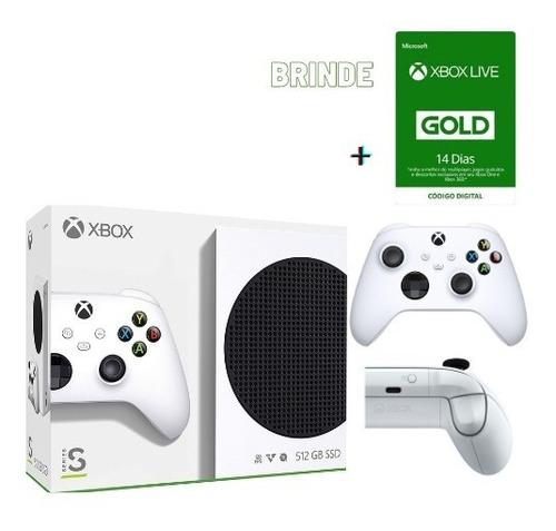 Microsoft Xbox Series S 512gb Ssd Nf Garantia 12x S/j+brinde