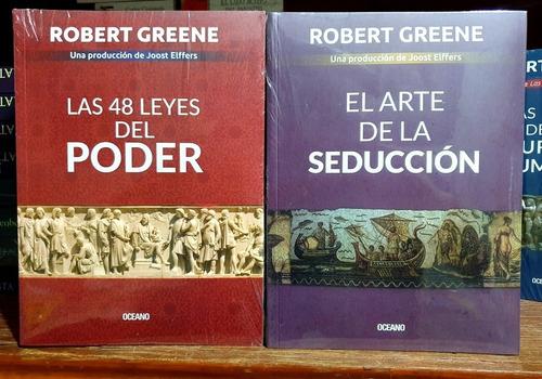 2x1 Las 48 Leyes Del Poder + Arte Seducción Robert Greene.