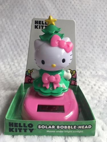 Lindo Hello Kitty Con Movimiento Con Luz Solar