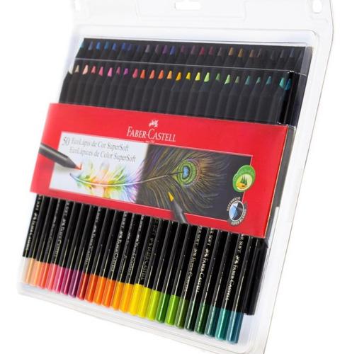 Colores Faber Castell Ecolapiz 50u.
