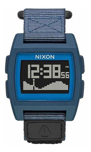 Relógio Nixon Base Tide Nylon Navy Tábua Da Maré @magicasurf
