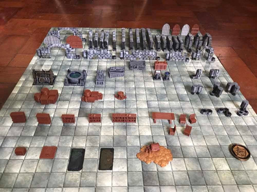 Dm3dminiaturas - Dungeon Master Starter Kit #1: Calabozos