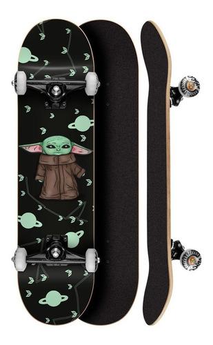 Skate Completo Profissional Cisco Skate Yoda