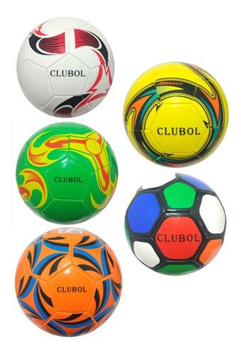 10 Bolas De Futebol Campo Couro Sintético (bola No Atacado)