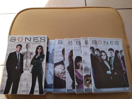 Seriado Bones Temporada 1 A 4 Completa , Usada.