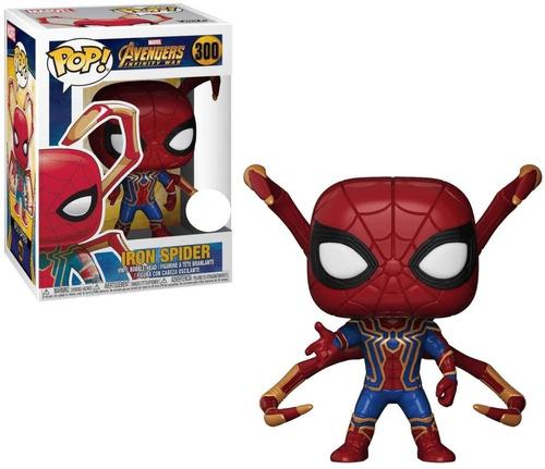 Simil Pop Iron Spider C/ Brazos Chango Store