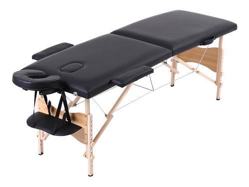 Divã Mala De Massagem Cama Maca Mesa Portátil Orificio 200kg
