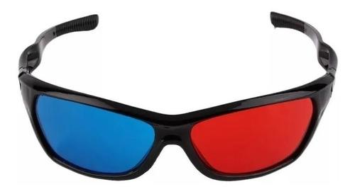 Gafas Lentes 3d Anaglifas Rojo Azul