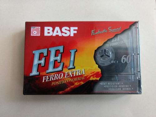 Fita Cassete K7 Basf Ferro Extra 60 Minutos - Lacrada