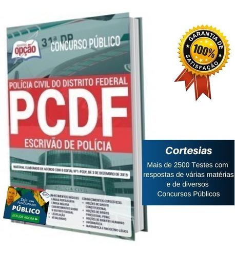 Apostila Escrivão De Polícia Concurso Pc Df Distrito Federal